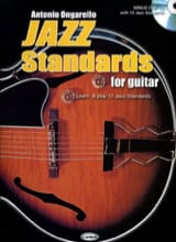 Antonio Ongarello - Jazz Standards For Guitar - Partition - di-arezzo.fr