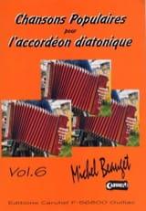 Chansons Populaires Volume 6 Michel Beauget Partition laflutedepan.com