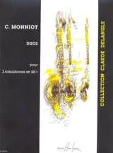 Duos Pour 2 Saxophones En Mib - Christophe Monniot - laflutedepan.com