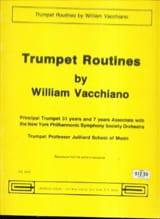 Trumpet Routines William Vacchiano Partition Trompette - laflutedepan