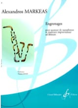 Alexandros Markeas - Engrenages - Partition - di-arezzo.fr
