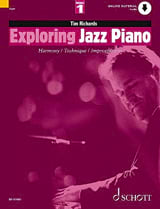 Tim Richards - Exploring Jazz Piano Volume 1 - Partition - di-arezzo.fr
