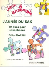 Gilles Martin - The Year of Sax - Sheet Music - di-arezzo.co.uk