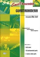 Guantanamera - Small Ensemble José Fernandez Diaz laflutedepan.com