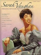 Original Keys For Singers - Sarah Vaughan - laflutedepan.com