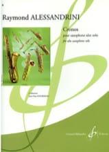 Cronos - Raymond Alessandrini - Partition - laflutedepan.com