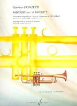 Gaetano Donizetti - Fantaisie Sur la Favorite - Partition - di-arezzo.fr