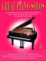 Great piano solos - The show book Partition laflutedepan.com