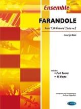 BIZET - Farandole from L'Arlesienne Suite N ° 2 - Sheet Music - di-arezzo.com