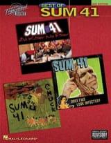 41 Sum - Best Of Sum 41 - Partition - di-arezzo.fr