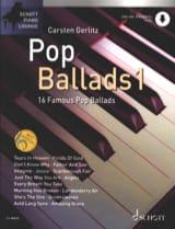 Pop Ballads 1 Partition Variétés internationales - laflutedepan.com
