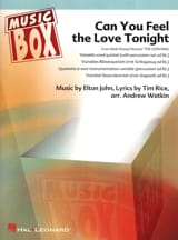 Can you feel the love tonight - Le Roi Lion - music box laflutedepan.com