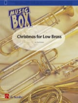 Christmas for low brass - music box Noël Partition laflutedepan