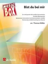 Bist du bei mir - music box Johann Sebastian Bach laflutedepan.com