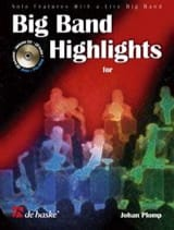 Big Band Highlights For Flute Johan Plomp Partition laflutedepan.com