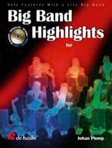 Johan Plomp - Big Band Highlights For Clarinet - Partition - di-arezzo.fr