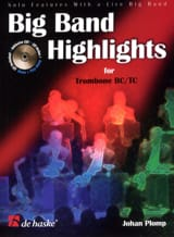 Big Band Highlights For Trombone TC/BC Johan Plomp laflutedepan.com