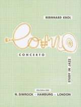 Bernhard Krol - Concerto Study In Jazz. Horn - Sheet Music - di-arezzo.co.uk