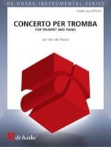 Concerto Per Tromba der Roost Jan Van Partition laflutedepan.com