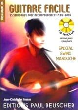 Guitare facile volume 6 - Spécial swing / manouche laflutedepan.com