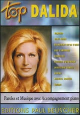 Dalida - Top Dalida - Sheet Music - di-arezzo.co.uk