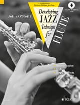Neill John O' - Developing Jazz Technique For Flute - Partition - di-arezzo.fr