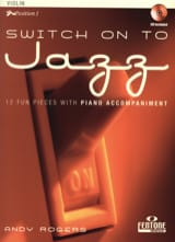 Switch On To Jazz Andy Rogers Partition Violon - laflutedepan.com