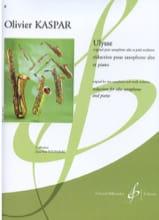 Olivier Kaspar - Ulysse - Partition - di-arezzo.fr