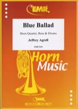 Blue Ballad Jeffrey Agrell Partition Cor - laflutedepan.com