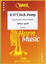 Jeffrey Agrell - 8 O' Clock Jump - Partition - di-arezzo.fr