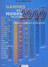 Derek Sébastian - Gammes Et Modes des Années 2000 - Partition - di-arezzo.fr