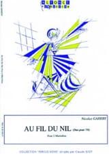 Au Fil du Nil Duo Pour 7/8 Nicolas Gahery Partition laflutedepan.com