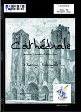 Cathédrale Thierry Deleruyelle Partition laflutedepan.com