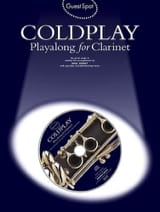 Coldplay - Guest Spot - Coldplay Playalong For Clarinet - Partition - di-arezzo.fr