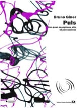 Puls Bruno Giner Partition Multi Percussions - laflutedepan.com