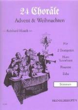 24 Choräle Advent & Weihnachten - Parties - laflutedepan.com