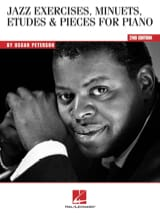 Oscar Peterson - Jazz exercices, minuets, etudes & pieces for piano - Partition - di-arezzo.fr
