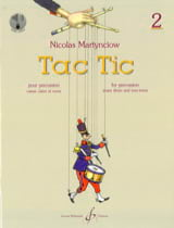 Nicolas Martynciow - Tac Tic Volume 2 - Sheet Music - di-arezzo.co.uk