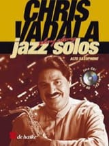 Play Along Jazz Solo Chris Vadala Partition laflutedepan.com