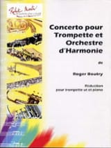 Concerto Pour Trompette Et Orchestre D' Harmonie - laflutedepan.com