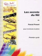 Pascal Proust - The secrets of the Nile - Sheet Music - di-arezzo.co.uk