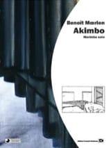Akimbo Benoît Moerlen Partition Marimba - laflutedepan.com