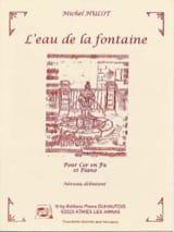 L' Eau de la Fontaine - Michel Hulot - Partition - laflutedepan.com