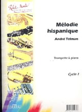 André Telman - Hispanic melody - Sheet Music - di-arezzo.co.uk
