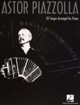 28 Tangos arranged for piano Astor Piazzolla laflutedepan.com