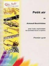 Arnaud Boukhitine - Petit Air - Partition - di-arezzo.fr