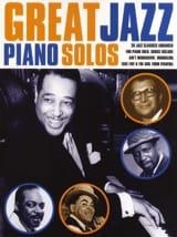 Great Jazz Piano Solo Partition Jazz - laflutedepan.com