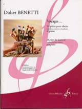 Didier Benetti - Voyages... - Partition - di-arezzo.fr