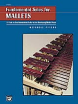 Fundamental Solos For Mallets - Mitchell Peters - laflutedepan.com