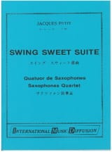 Swing Sweet Suite Jacques Petit Partition Saxophone - laflutedepan.com